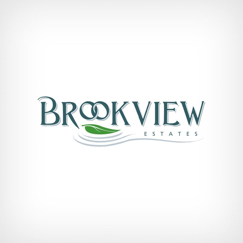 Logo Design, Branding, Brookview Estates