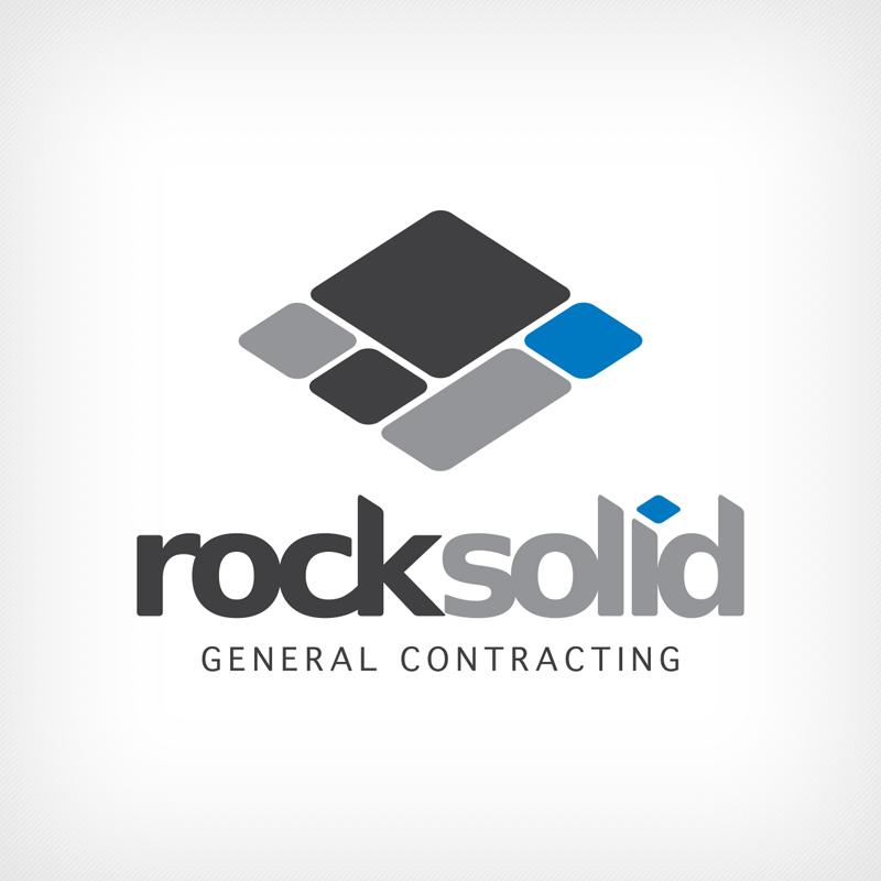 Logo Design, Branding, Rock Solid General Contracting