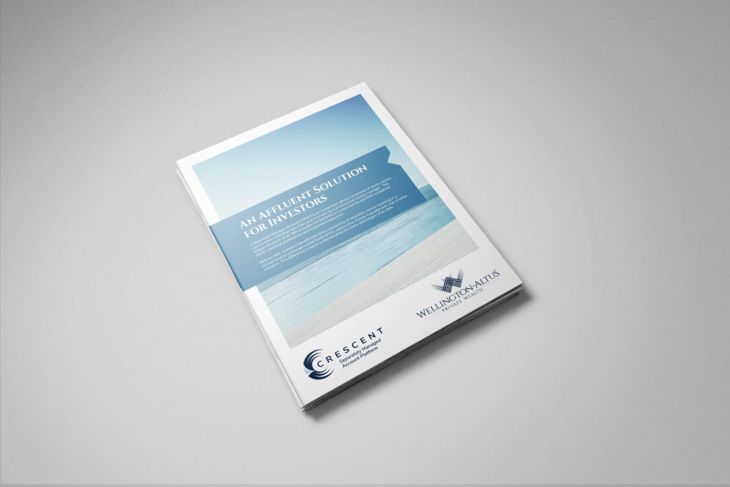 Wellington-Altus Private Wealth - SMA Brochure Design